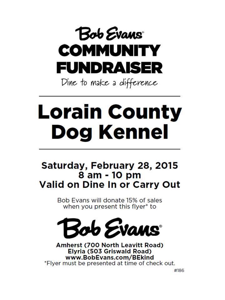 022815 LCDK Bob Evans fundraiser
