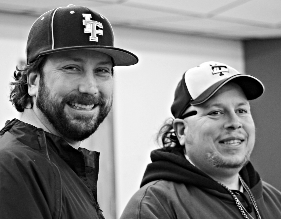 Coach Brad and MadDog