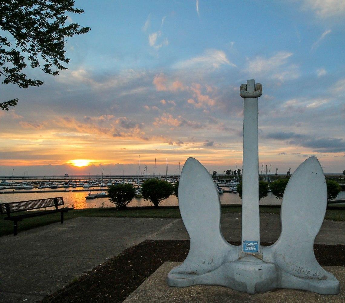 anchor myron c taylor sunset Lorain 052515