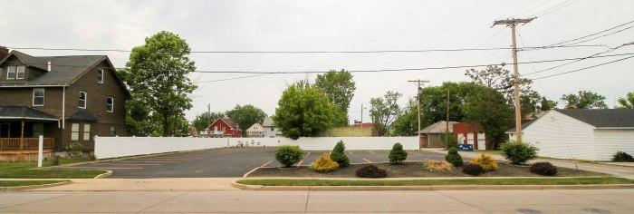 razed muleys house put up a parking lot