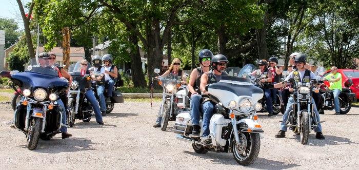 American Legion Vietnam Vet Memorial Ride 071815