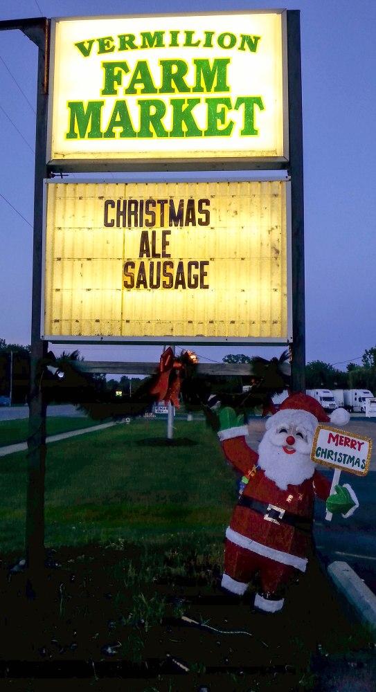christmas ale sausage-1