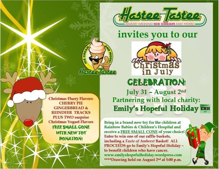 emilys hopeful holiday fundraiser