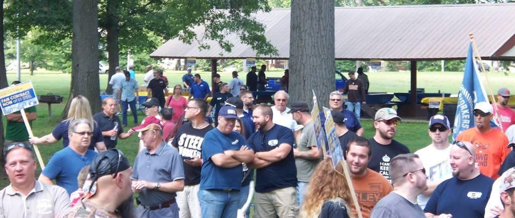 John Gargasz Steelworkers rally 082815