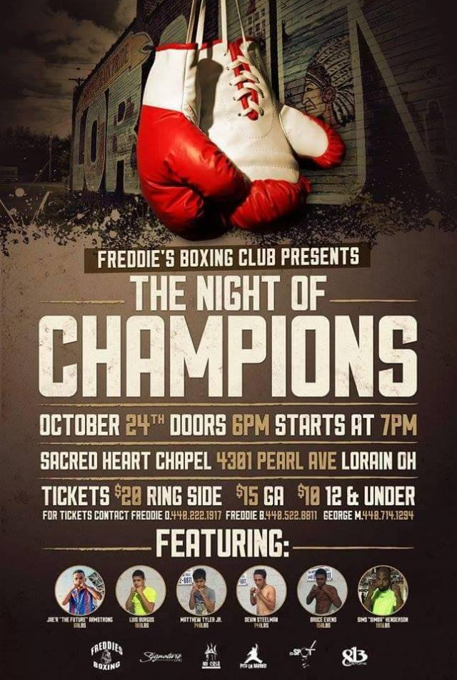 102415 freddys boxing benefit