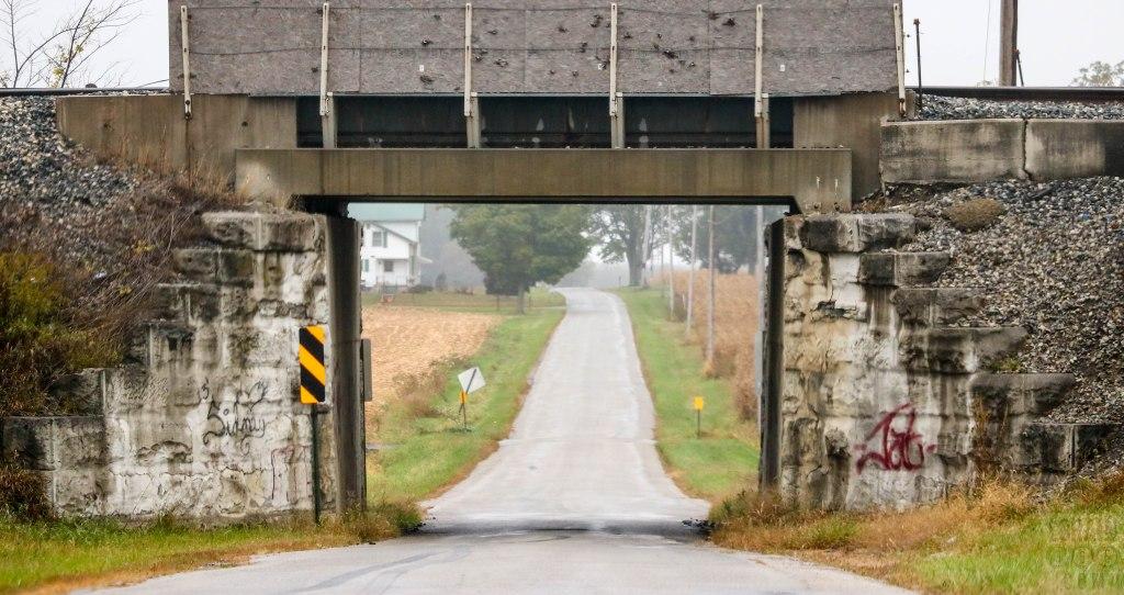 country railroad bridge