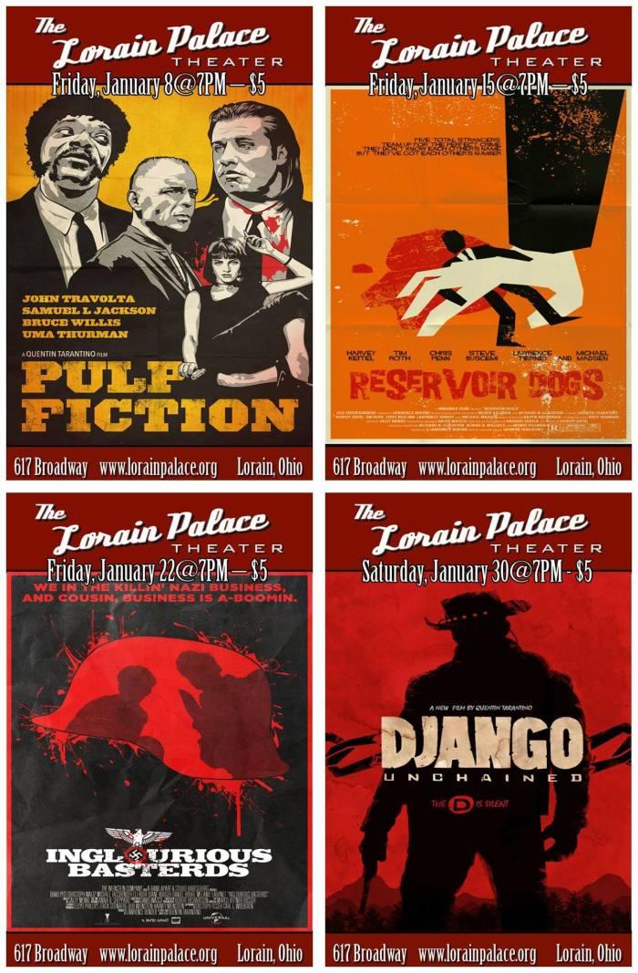 Lorain Palace Directors Series January 2016 Quentin Tarantino