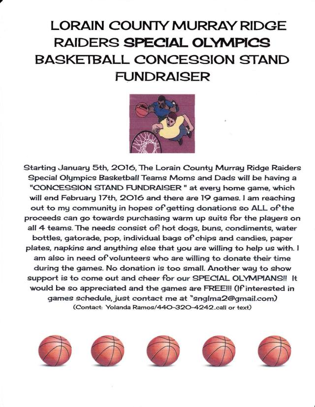 Murray Ridge Baketball Fundraiser