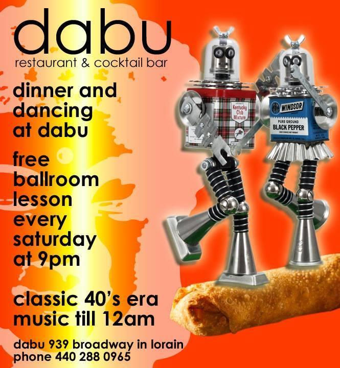 dinner and dancing at dabu