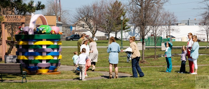 taking turns Oakwood Park easter basket 032716