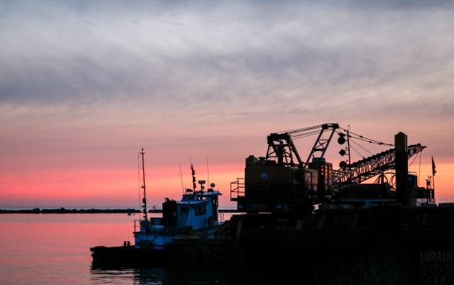 tug and barge at sunset 052116-1