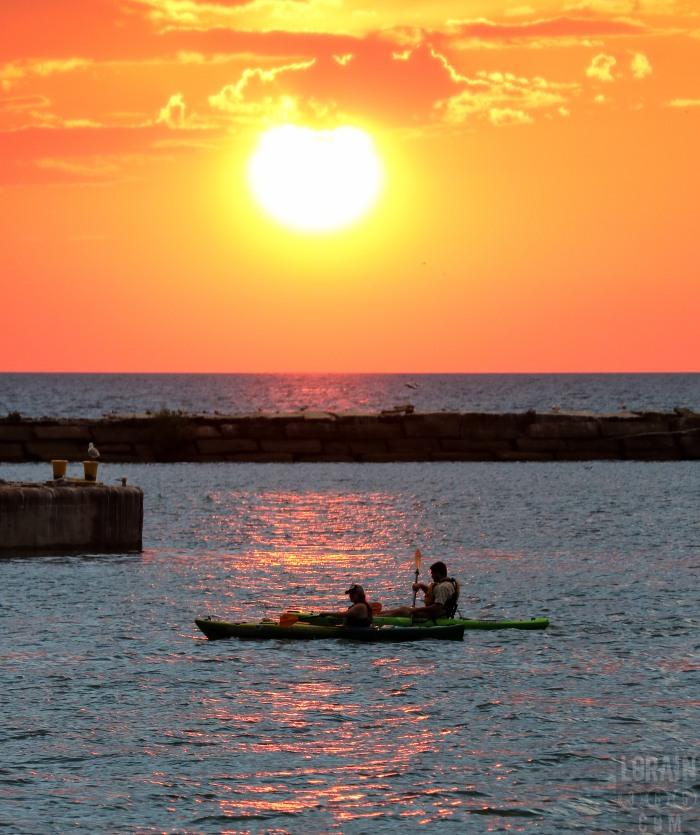 kayak sunset 01