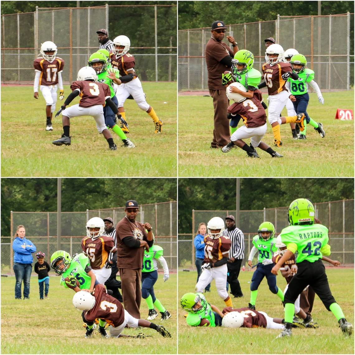 LoCo Raging Raptors 9uJV 090218 14-17collage