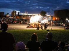 Ohio Burn Unit provides the pyrotechnics