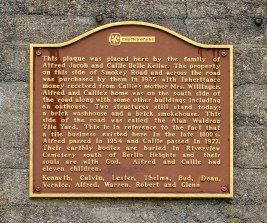 Kellar Wall plaque Erie Co MP 072018