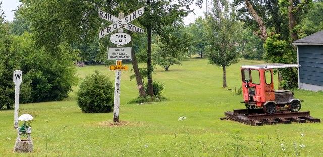 RR yard Darrow Rd 072018