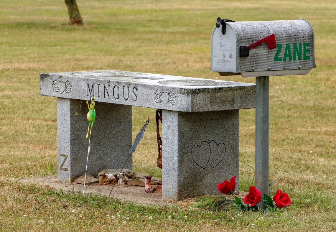 Zane Mingus grave 072018