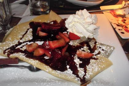 crepes at The Chocolate Bar Cleveland TGreer