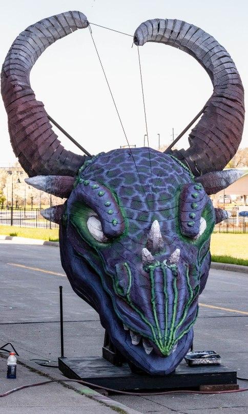 Dragon face 042819